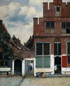 Johannes Vermeer : The Little Street